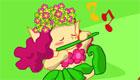 decoración : El bosque mágico de las chicas duende