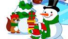 decoración : Juego de navidad- La ciudad de las ardillas