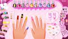 maquillaje : Una chica manicura - 3