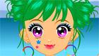 maquillaje : Una chica en la playa