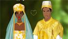 vestir : Boda africana