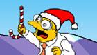 famosos : La Navidad de los Simpson