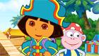 famosos : El tesoro de Dora la exploradora