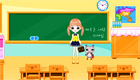 decoración : Una chica en el colegio