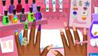 maquillaje : El salón de manicura
