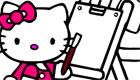 famosos : Hello Kitty para colorear