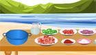 cocina : Cocinando carne