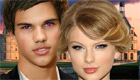 famosos : Taylor Swift y Taylor Lautner