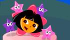 Juego de decorar un pastel de Dora