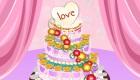 Juego de pastel de boda