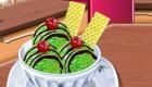 Preparar helado de té verde