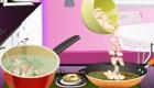 Cocina sopa de judías
