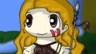 Vestir a chica medieval