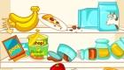 Juego de limpiar el frigorífico
