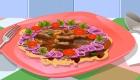 Juego de cocinar tallarines con carne