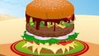 Cocina hamburguesas de rechupete