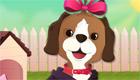 Vestir a un gracioso perro