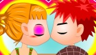 Besos en el colegio
