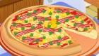 Decoración de pizza