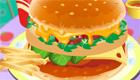 Juego de hamburguesa
