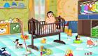 Recoger la habitación de un bebé