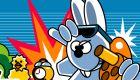 Juego de conejo de Pascua