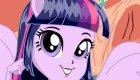 Twilight Sparkle, chica de Equestria