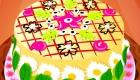 Cocina un pastel de flores