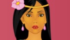 Juego de vestir de Pocahontas