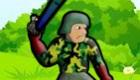 Juego de tiro de granadas