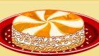Tarta helada de nueces y albaricoques