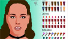Maquilla a Alicia Keys