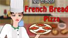 Una pizza a la francesa