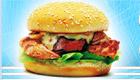 Haz hamburguesas de pollo