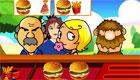 Un restaurante de comida rápida