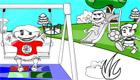 Colorear el parque