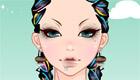 Una chica con look rasta