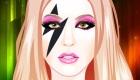 Maquillar a la famosa Lady Gaga