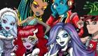 Juego de colorear de Monster High