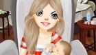 Maquilla a una madre primeriza