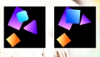 Juego de las diferencias de figuras geométricas