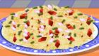 Cocina ensalada de pasta
