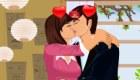 Besitos de enamorados