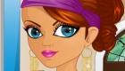 Maquillar a una nueva princesa