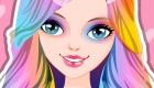 Maquillar de arco iris