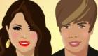 Besos de Selena y Justin