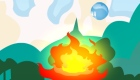 Juego de fuego y agua