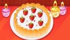 Preparar una tarta de fresa