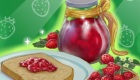 Cocinar mermelada de fresa