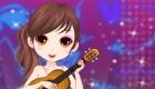 Vestir para un concierto de ukelele
